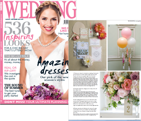 As Seen In… Wedding Magazine