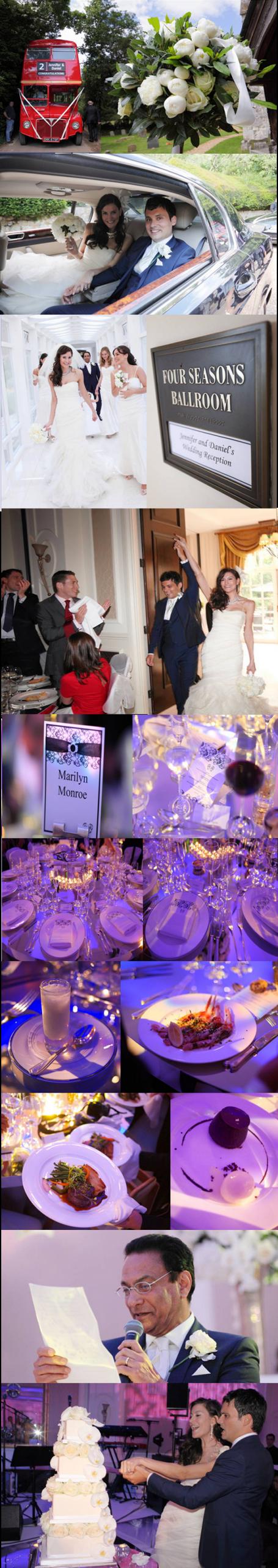 Leonie Gordon London Black & White Four Seasons Hotel Wedding4