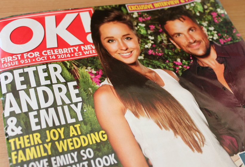 As Seen In… OK! Magazine (again!)
