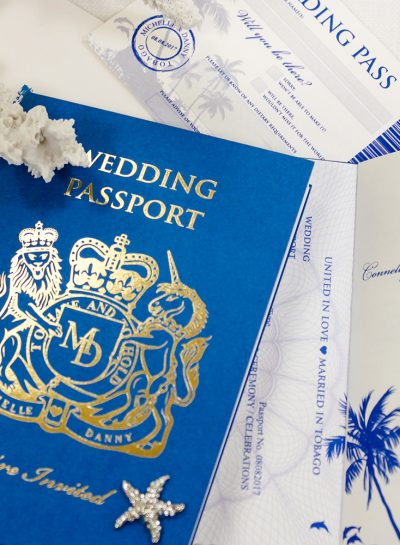 Stationery for Your Destination Wedding