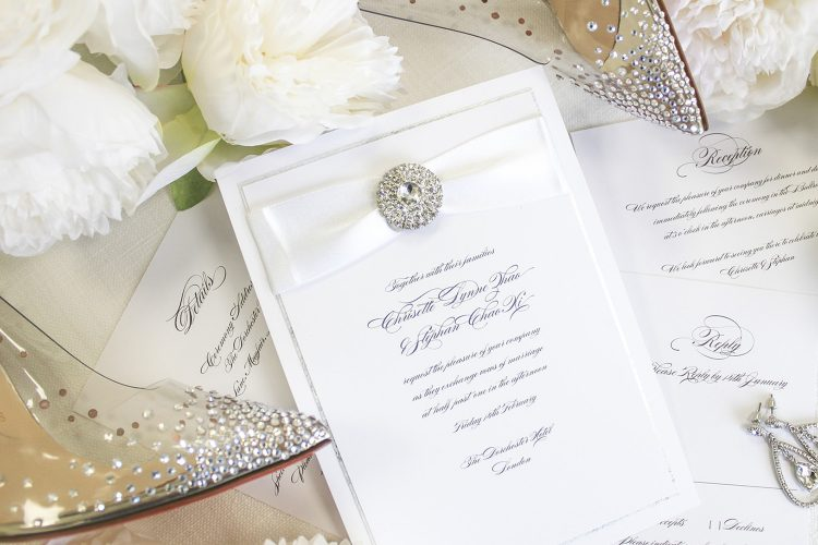 Leonie Gordon London Bespoke Wedding Invitation