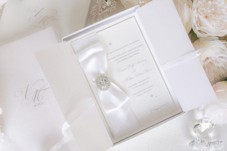 Leonie Gordon London Boxed Wedding Invitation