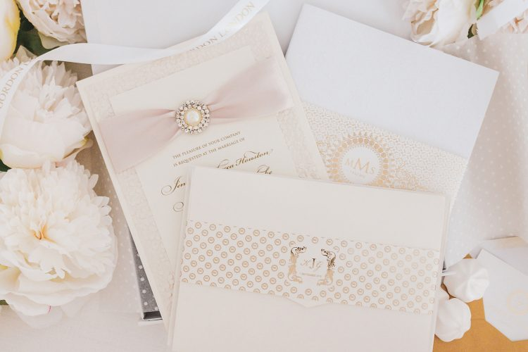 Leonie Gordon London Wedding Invitation Selection